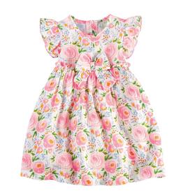Swirl Floral Rosebud Toddler Dress - 4T