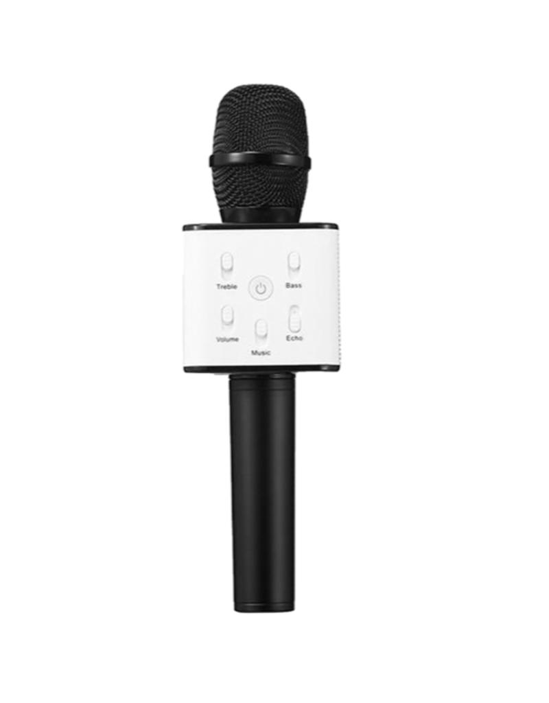 Karaoke Microphone Speaker - Black