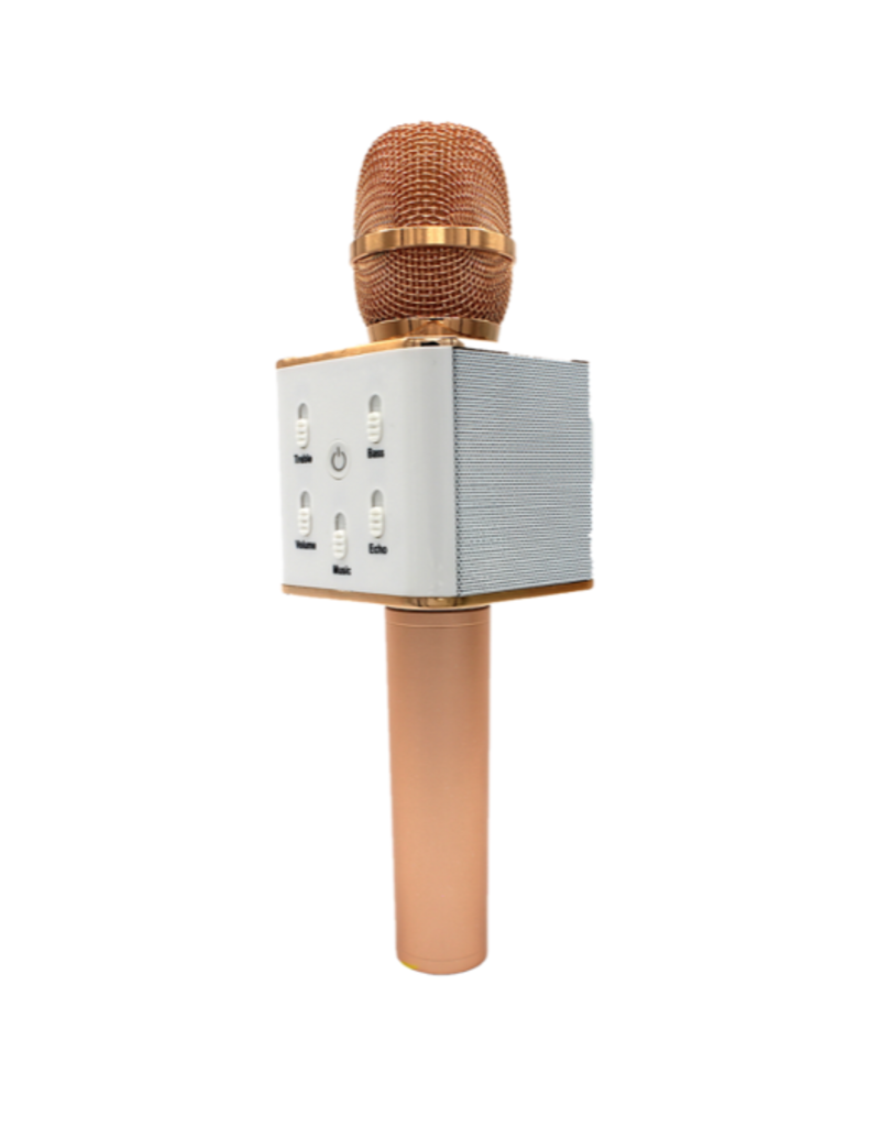 Karaoke Microphone Speaker - Rose Gold
