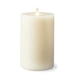 "Lightli Ivory Pillar Remote Control Candle - 3.5""x7"""