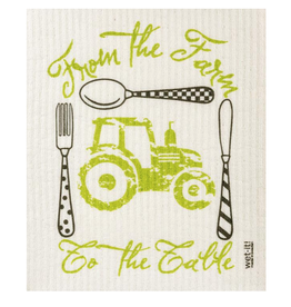 Wet-It Superabsorbent Cloth - Farm to Table