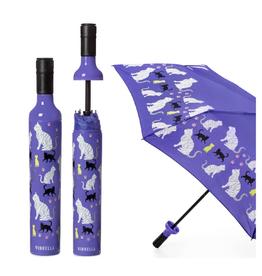 Vinrella Purrfection Bottle Umbrella