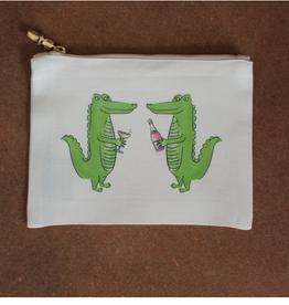 Gators Flat Zip Bag