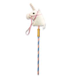 Prance-n-Play Stick Unicorn
