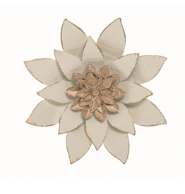 "Serene Flower Wall Art - 9.5"""