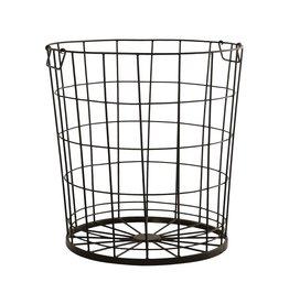 """Farmhouse Rug Basket - 22"""""""