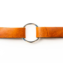 Classic Brown Leather Bracelet