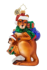 Christopher Radko Kangaroo Kristmas Ornament
