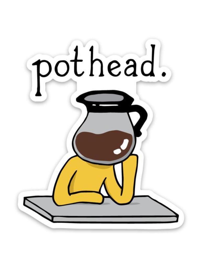 Pothead Coffee Sticker