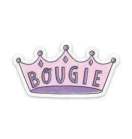 Bougie Crown Sticker