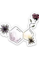 Color Serotonin Symbol Sticker