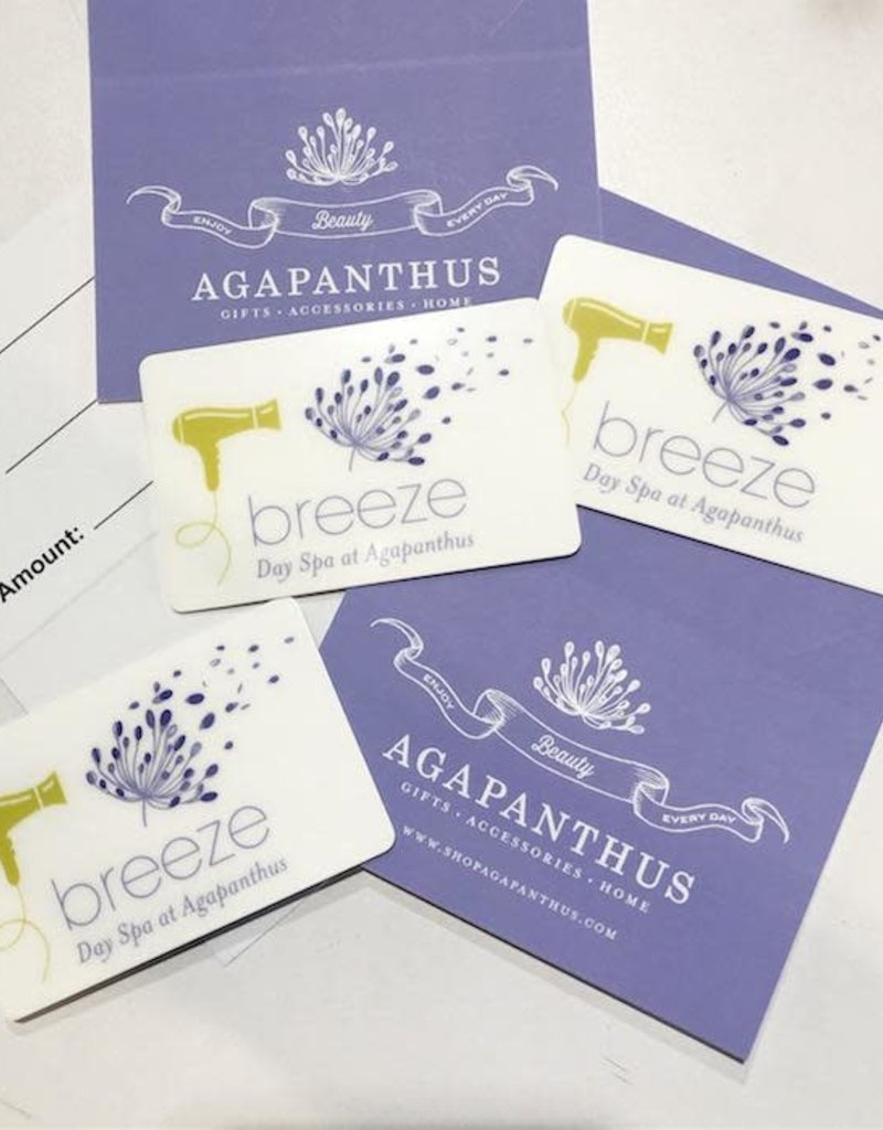 Breeze Day Spa WEB Breeze Day Spa Gift Card - Water Lily (Basic) Mani-Pedi Bundle