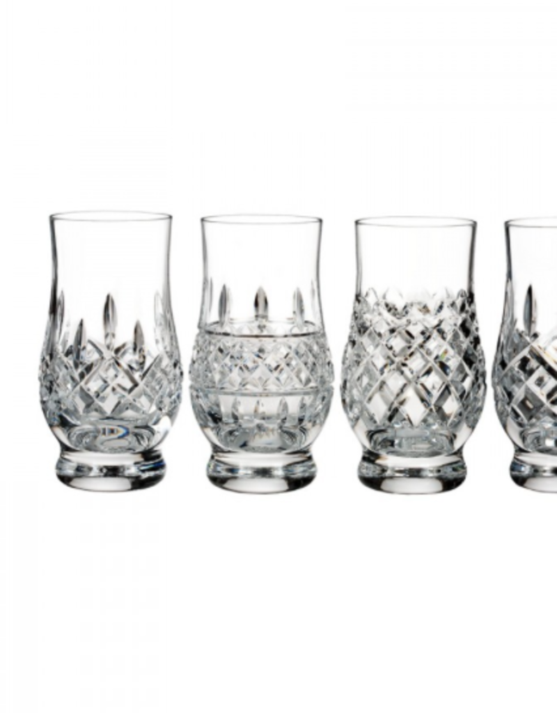 Waterford Lismore Connoisseur Heritage Footed Tasting Tumblers, Set of 6 Gift Boxed