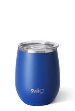 Swig Swig Stemless 14oz Wine Cup - Matte Royal