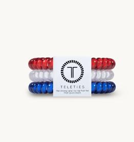 Teleties Teleties Red, White, & Blue 3 Pack - Small