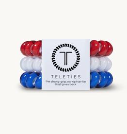 Teleties Teleties Red, White, & Blue 3 Pack - Large
