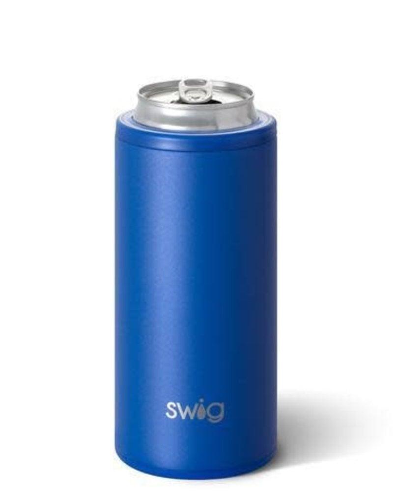 Swig Swig 12oz Skinny Can Cooler - Matte Royal
