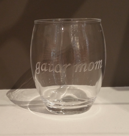 Acrylic Stemless Tumbler - Single Tumbler - Gator Mom