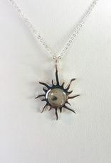 Dune Jewelry Sunburst Necklace - Cedar Key, Florida