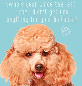 Calaisio Fur OMG Birthday Card