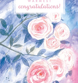 Calaisio Arte Roses Wedding Card