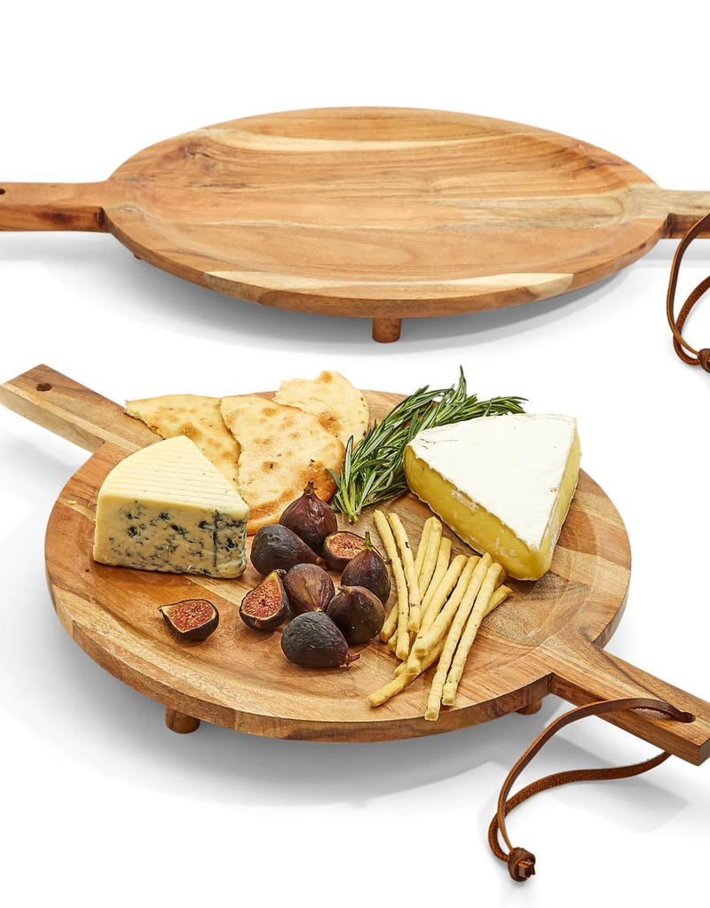 Footed Serving Boards - Oval