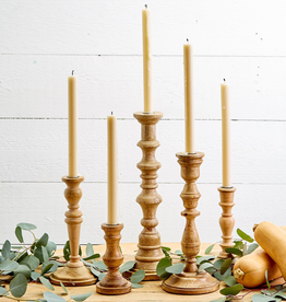 """Natural Heights Hand-Crafted Candlestick - 8.25"""" H"""