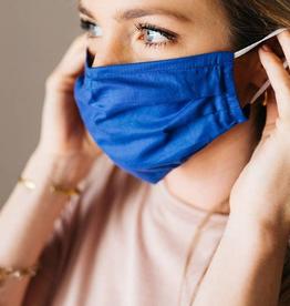 Royal Blue Face Mask - Large