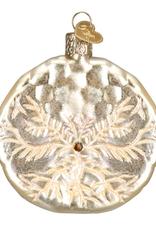 Old World Christmas Sand Dollar Ornament