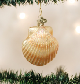 Old World Christmas Scallop Shell Ornament