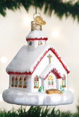 Old World Christmas Country Church Ornament