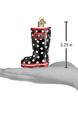 Old World Christmas Rubber Boots Ornament