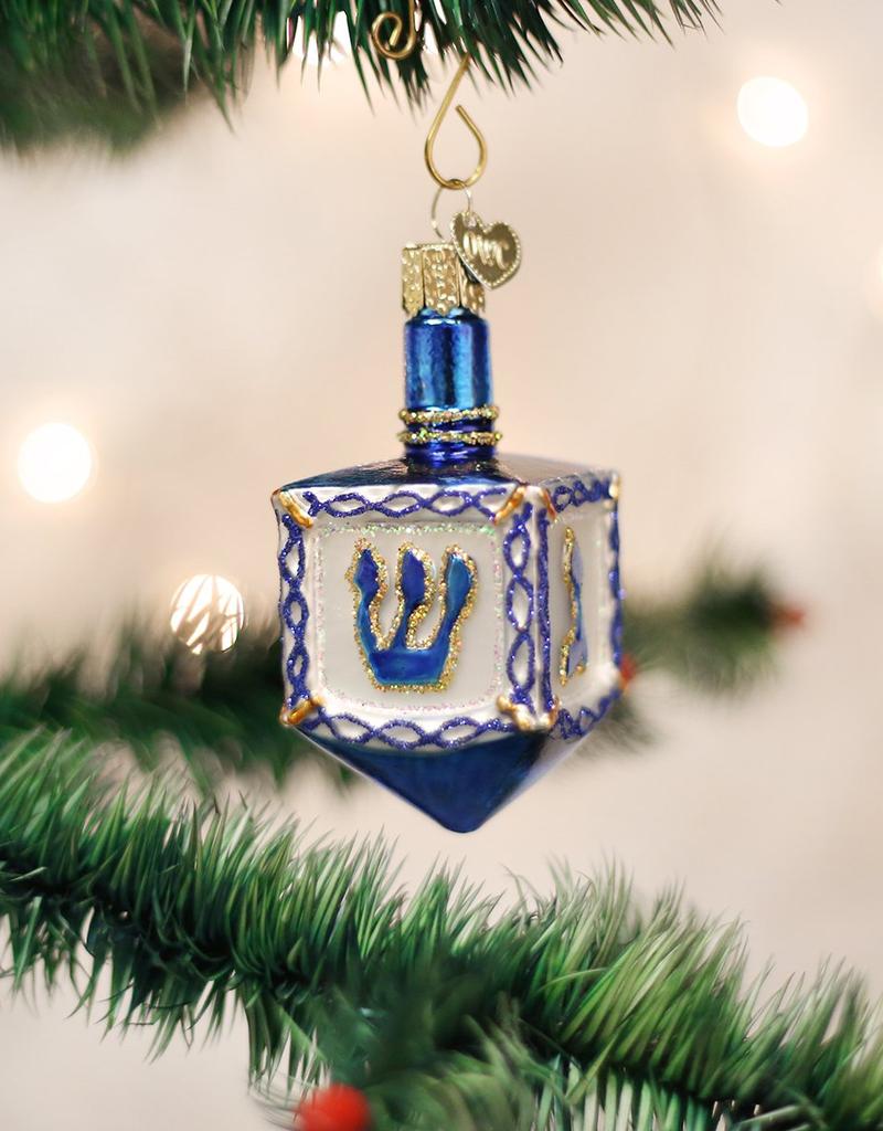 Old World Christmas Dreidel Ornament