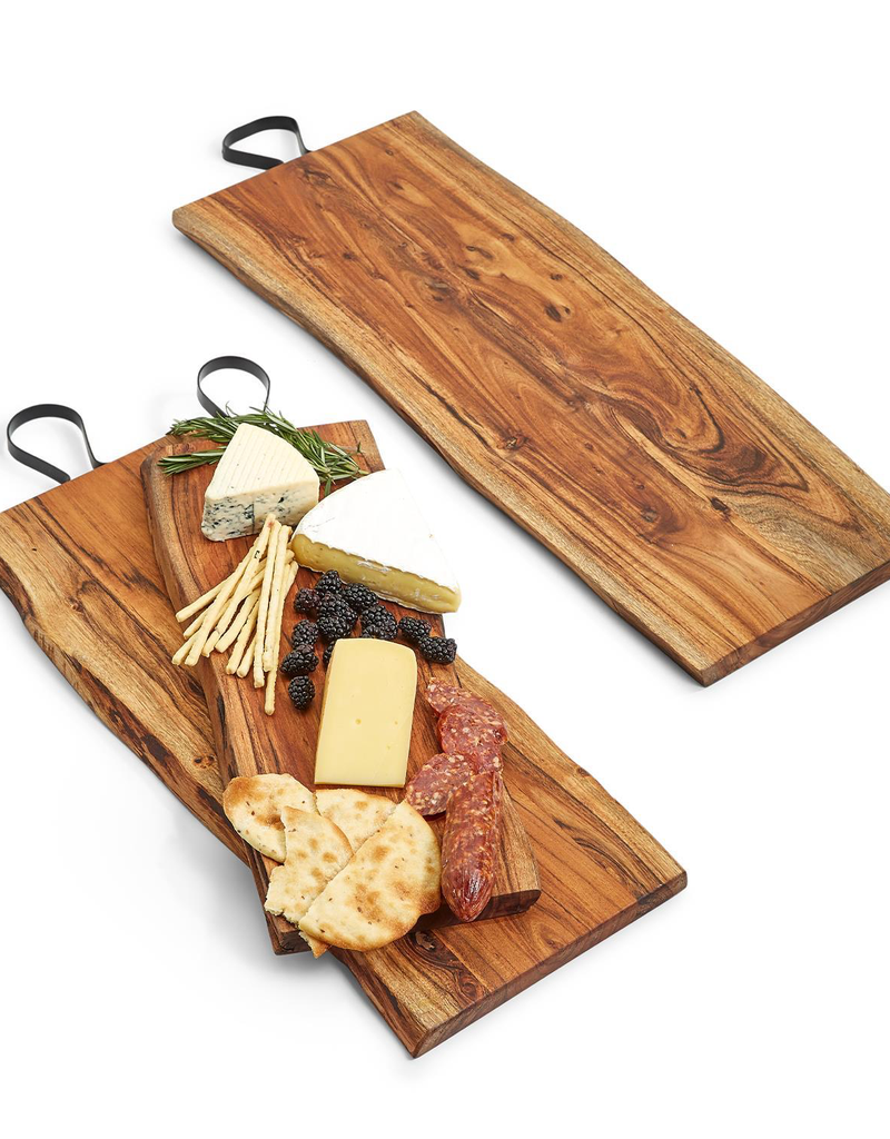 """Serving Boards with Iron Handle - 31"""""""