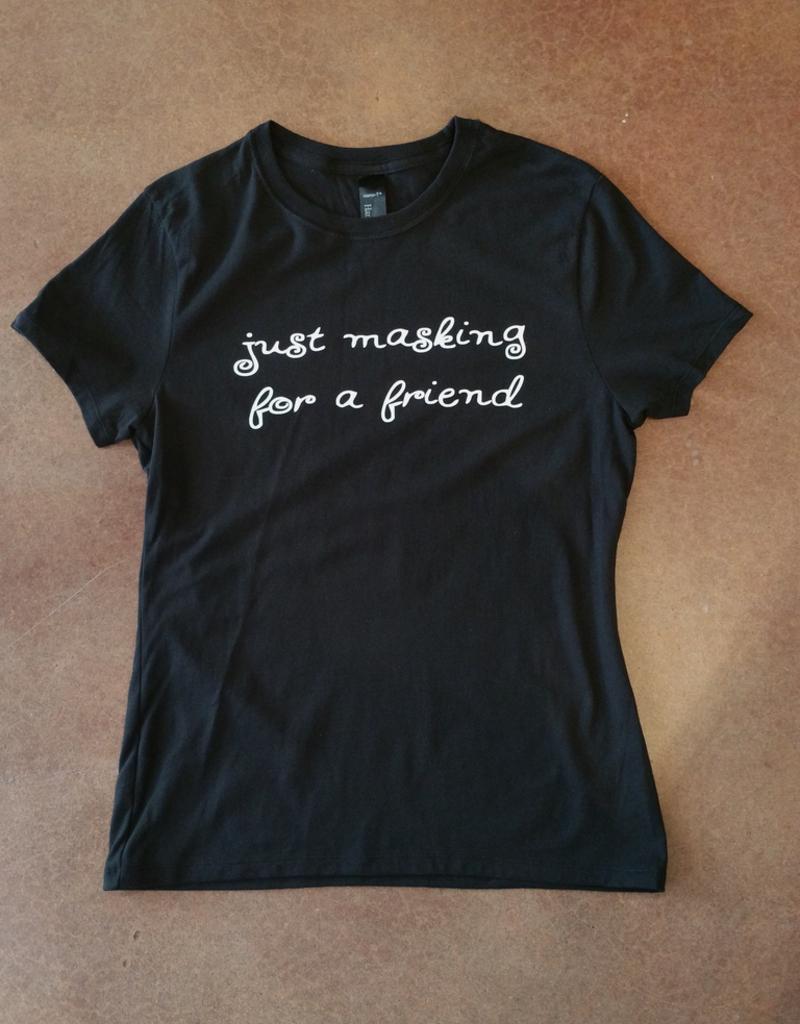Just Masking Ringspun Cotton nano-T T-Shirt - Large