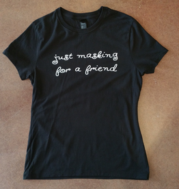 Just Masking Ringspun Cotton nano-T T-Shirt - X-Large