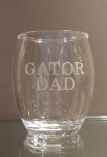 Acrylic Stemless Tumbler - Single Tumbler - Gator Dad
