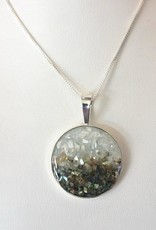 Dune Jewelry Marina Necklace Gradient - Abalone Shell & Mother of Pearl