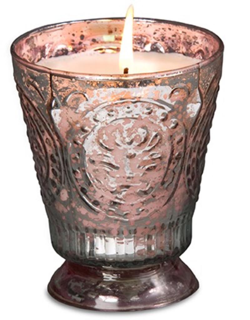 Himalayan Trading Post Fleur de Lys Candle - Desert Springs