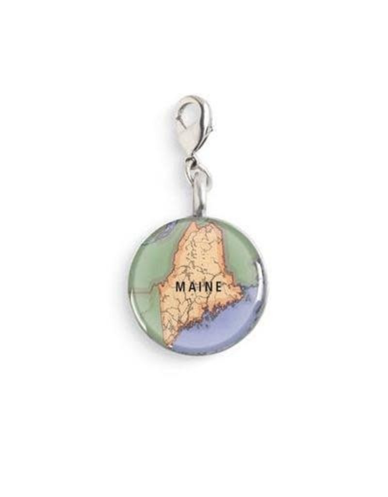 Map Charm - Green Gainesville Florida Map