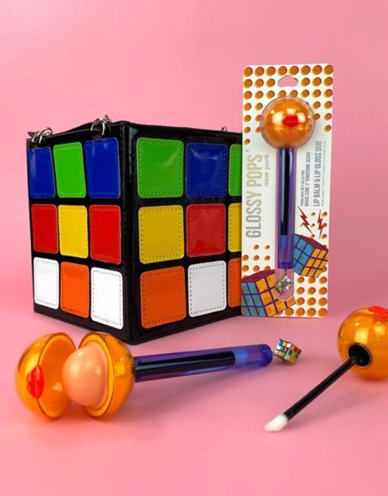 Glossy Pops Lip Balm & Lip Gloss - Magic Cube