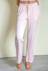 Bamboo Long Pants - Pink - X-Large