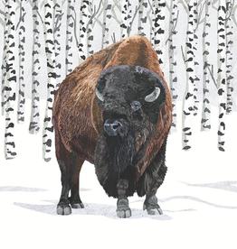 Wilderness Buffalo Beverage Napkins - 20 per Pack