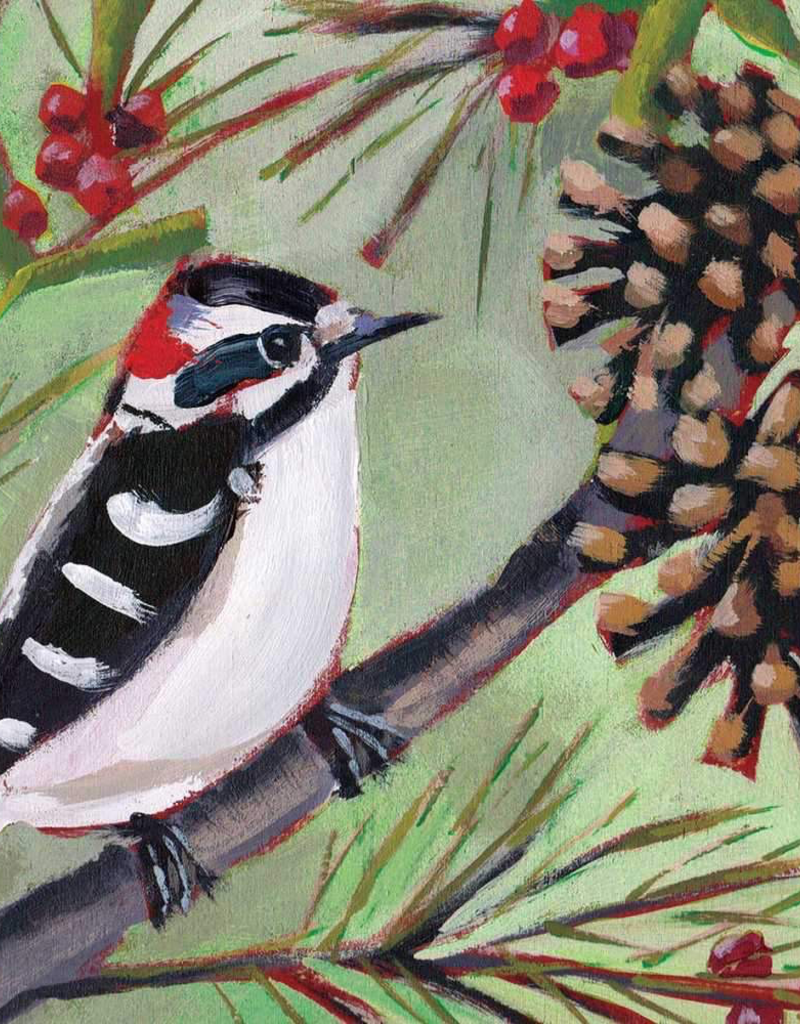 Winter Bird Musee Lunch Napkins - 20 per Pack