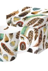 Aquarell Feathers Gift Boxed Mug