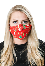 Adult Face Mask - Christmas Tree