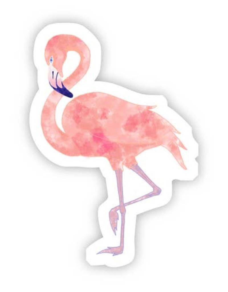 Flamingo Watercolor Sticker