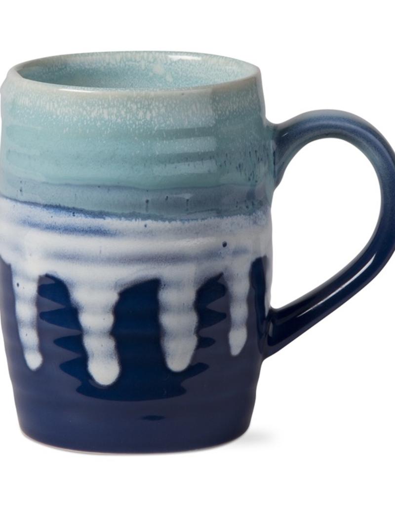 Reactive Glaze Mug - Blue & Aqua