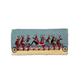 Merrily Roll Along Wide Door Mat