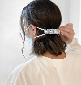 Parker Ear Saver Scrunchie - Blue